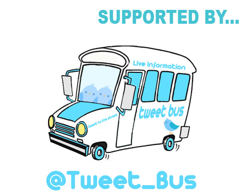 Supported by Tweet Bus