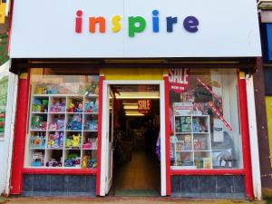 Inspire newquay shop street view